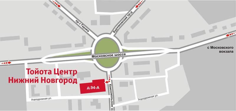 Тойота Центр Нижний Новгород